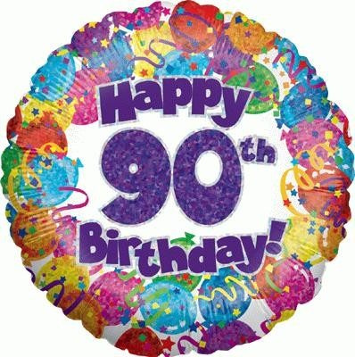 Happy 90th Birthday Balloon